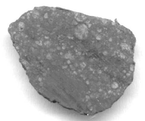 Condrite Carbonacea Allende frammento